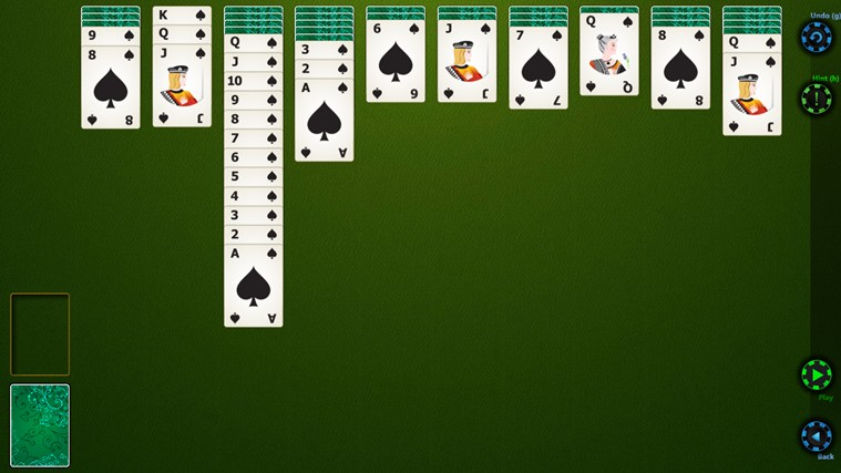 Spider Solitaire HD screen shot 0