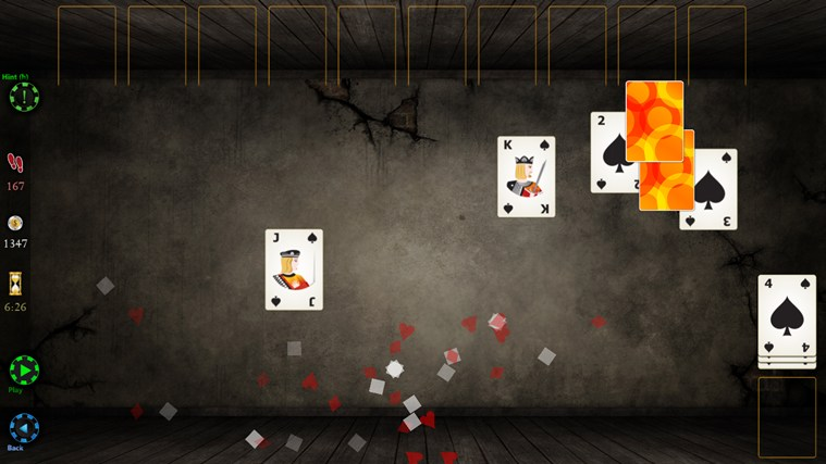 Spider Solitaire HD screen shot 6