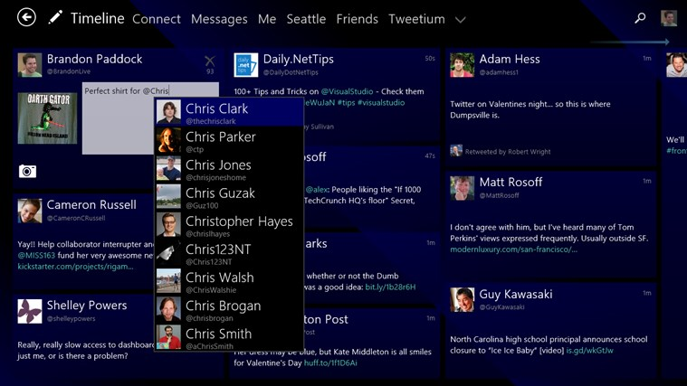 Tweetium screen shot 6