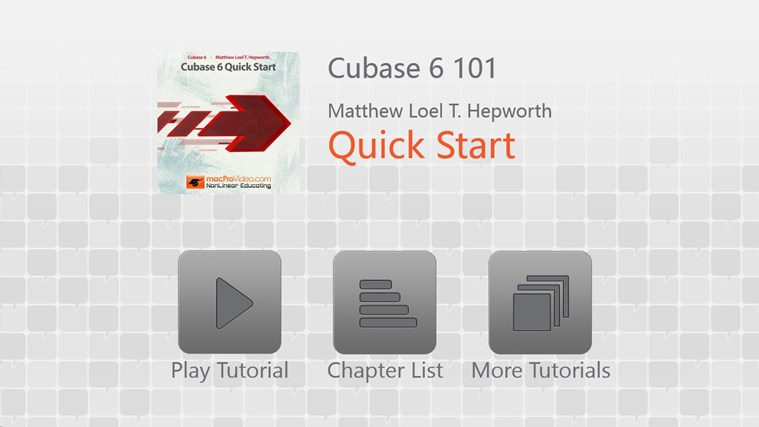 Cubase 6: Quick Start screenshot 0