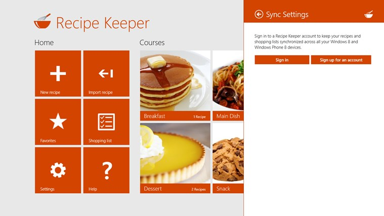 Recipe Keeper screen shot 6