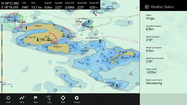 Seapilot-skärmbild 2