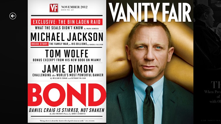 Vanity Fair screen shot 0