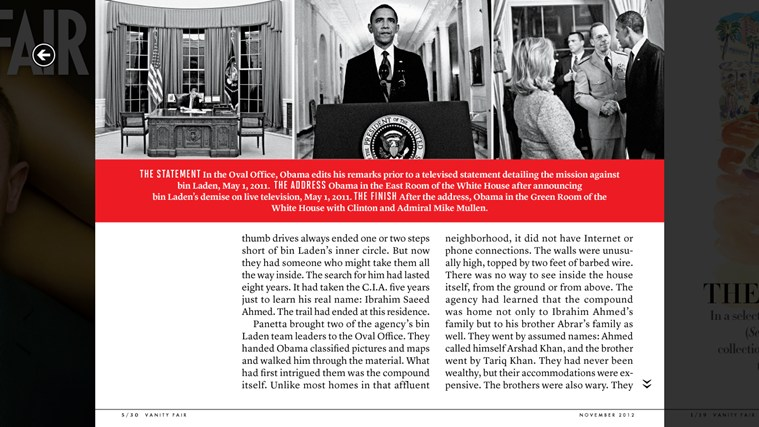 Vanity Fair screen shot 2