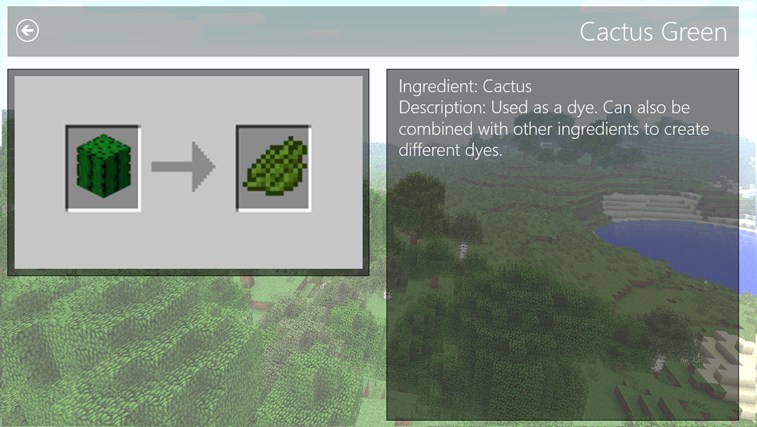 RecipeCraft screen shot 2