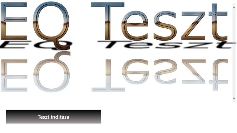 EQ Teszt – 0. képernyőkép