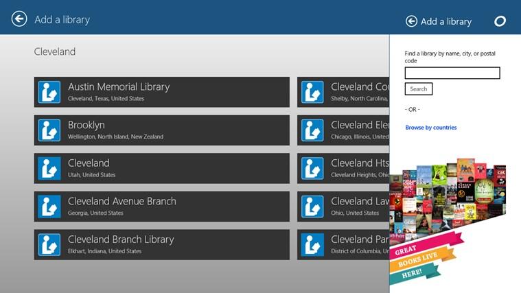 OverDrive - Library eBooks & Audiobooks screen shot 2