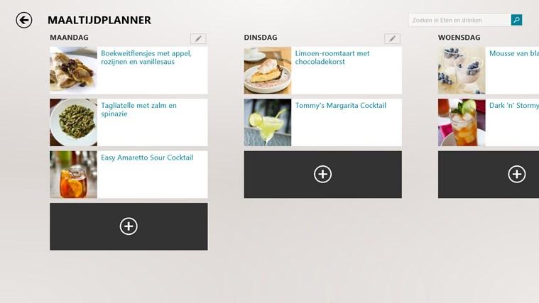 MSN eten en drinken schermafbeelding 2