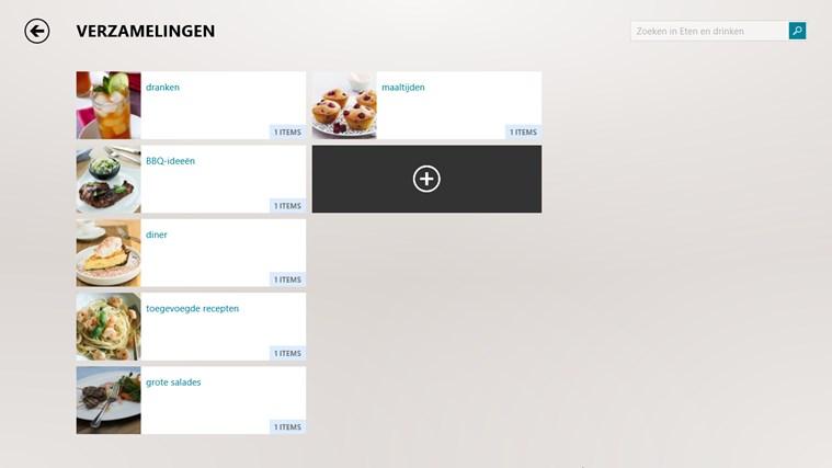 MSN eten en drinken schermafbeelding 4