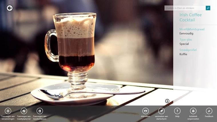 MSN eten en drinken schermafbeelding 6