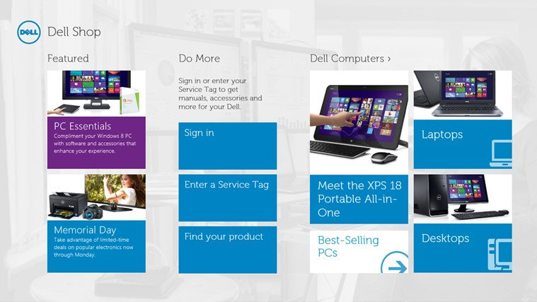 Dell Shop screen shot 0