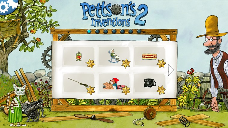 Pettson's Inventions 2 screen shot 0