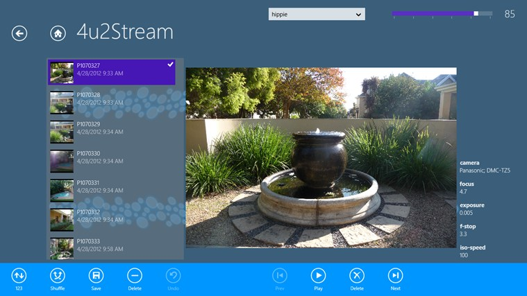 4u2Stream for Windows 8 app, free download on Store