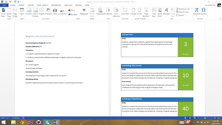 Lesson Plan Manager screen shot 4