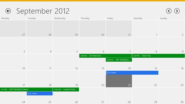 SAP WorkDeck ภาพหน้าจอ 0