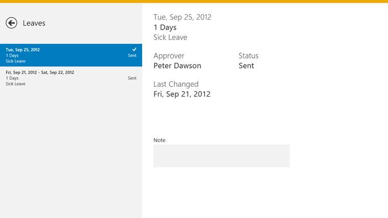 SAP WorkDeck ภาพหน้าจอ 2