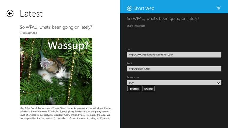 WPDownUnder screen shot 6
