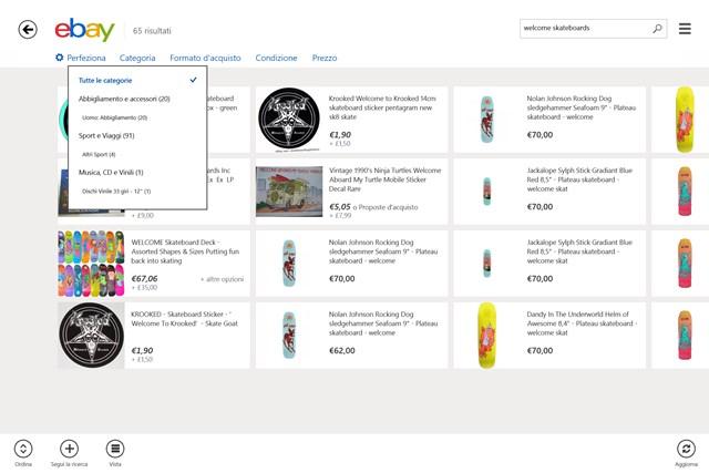 eBay cattura di schermata 2