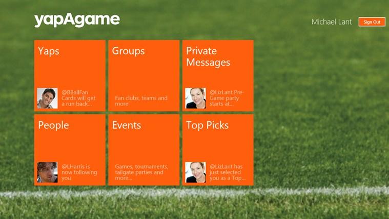 yapAgame screen shot 0