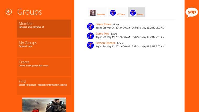 yapAgame screen shot 4