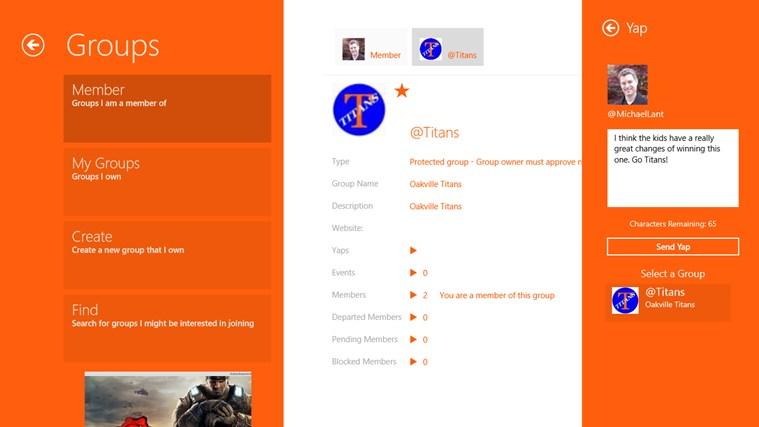 yapAgame screen shot 6