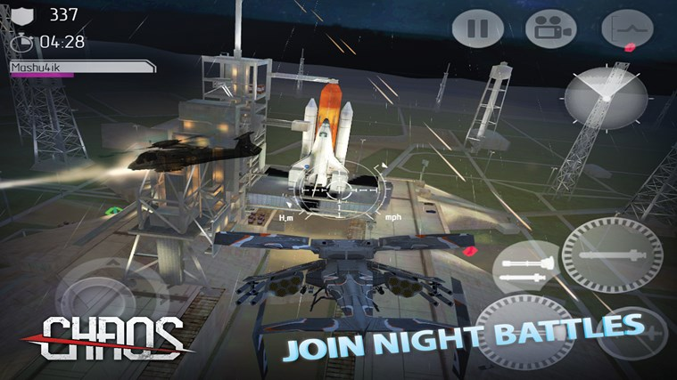 C.H.A.O.S Multiplayer Air War screen shot 2