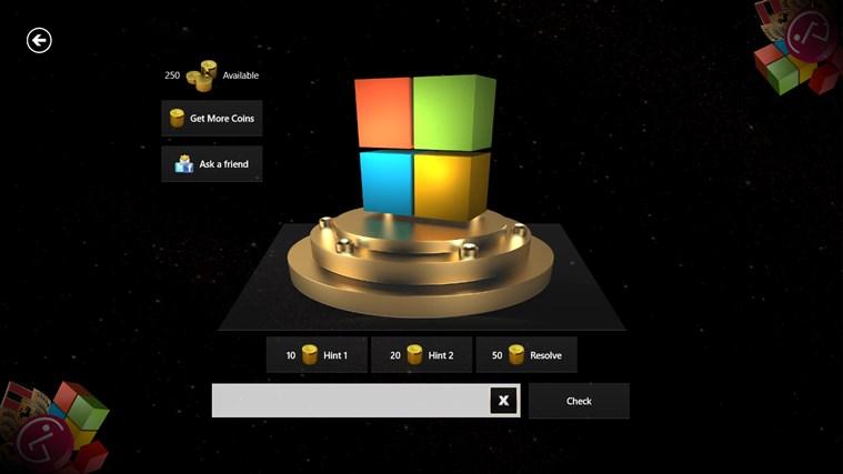 3D Logo Quiz screen shot 2