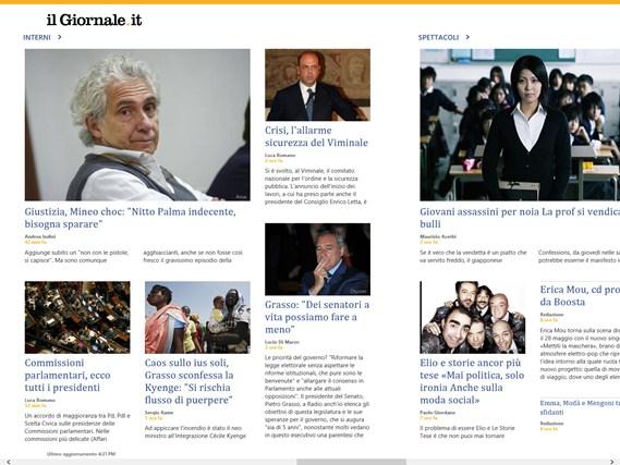 il Giornale News cattura di schermata 0