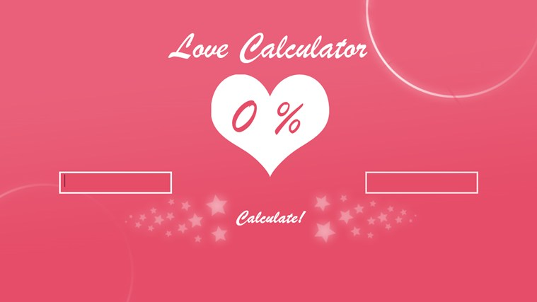 take the love calculator test love calculator the love calculator ...