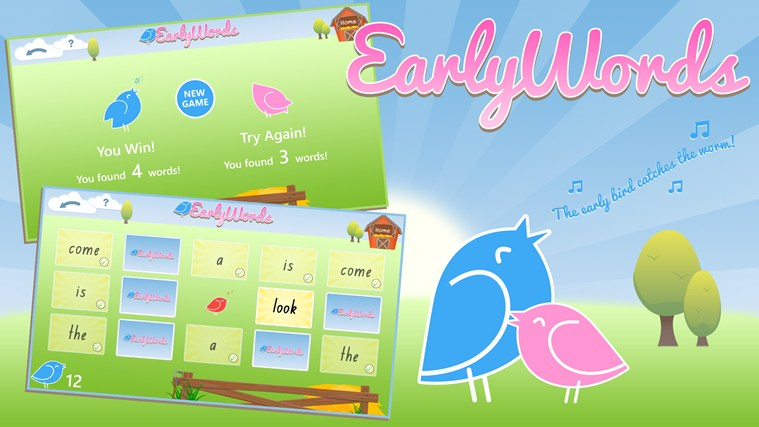 Early Words screen shot 0