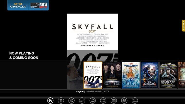 Cineplex screen shot 0
