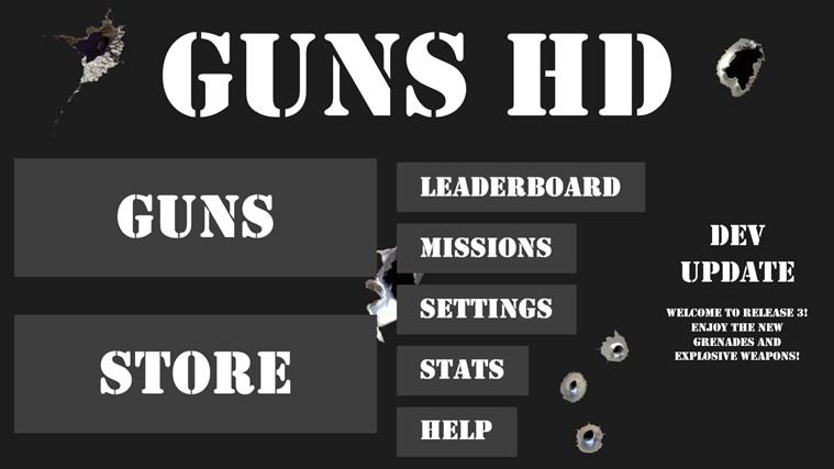 Guns HD full screenshot