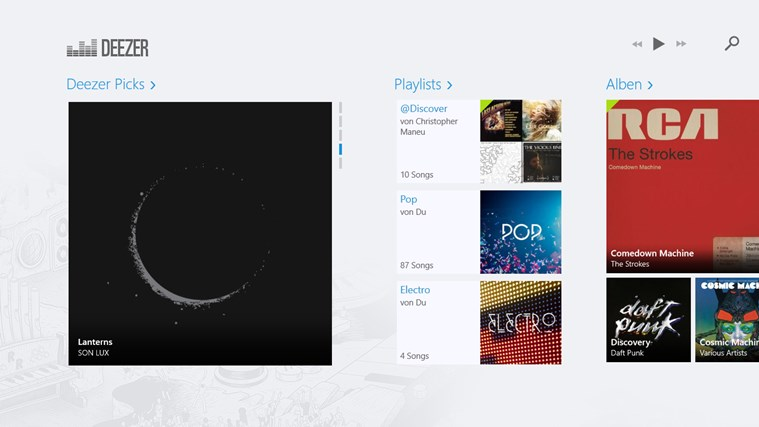 Deezer Screenshot 0
