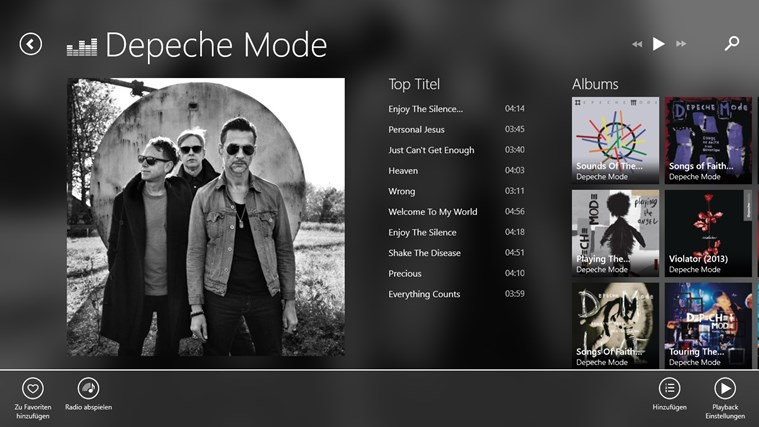 Deezer Screenshot 2