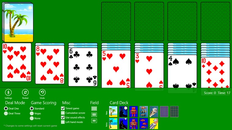 Classic Solitaire (Free) screen shot 0