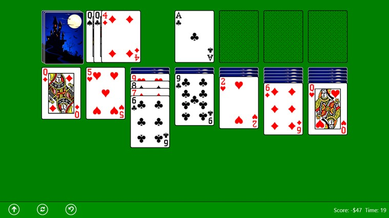 Classic Solitaire (Free) screen shot 2