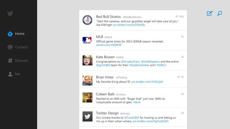 Twitter - Source: Windows Store