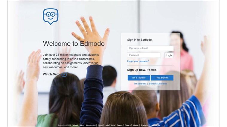 Edmodo screen shot 8