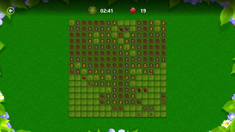 Microsoft Minesweeper snímek obrazovky 4