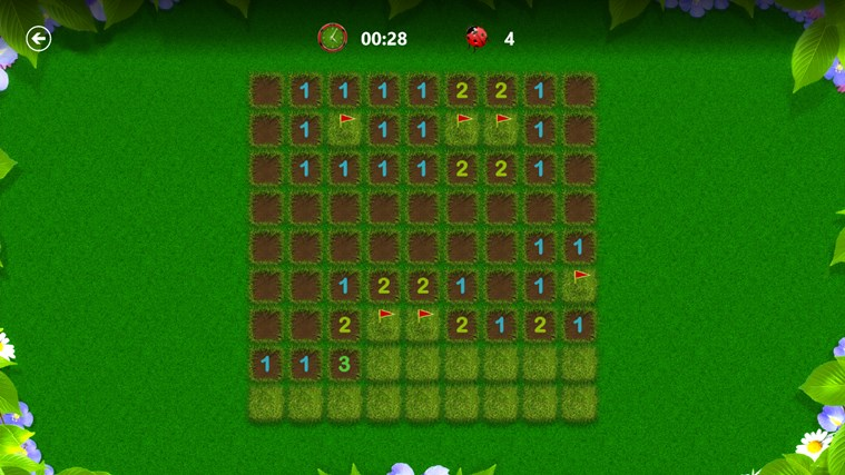 Microsoft Minesweeper snímek obrazovky 6