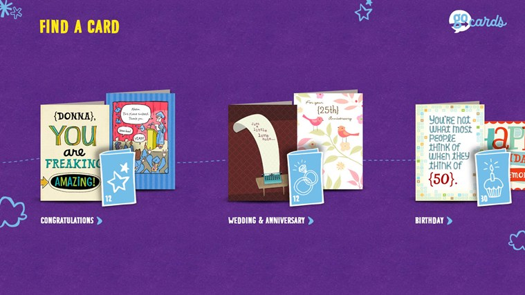 Hallmark Go Cards screen shot 0