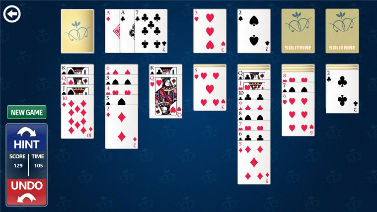Simple Solitaire screen shot 2