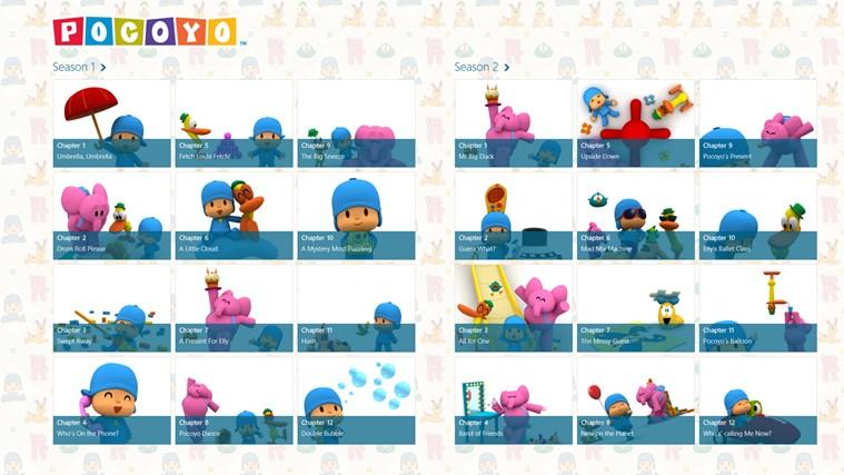 Pocoyo TV for Android full screenshot