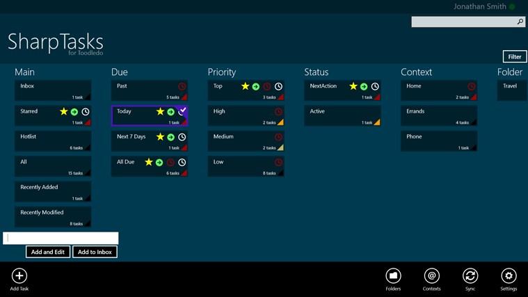 SharpTasks screen shot 0