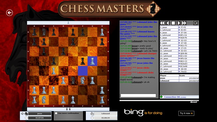 Chess Masters Online screen shot 0