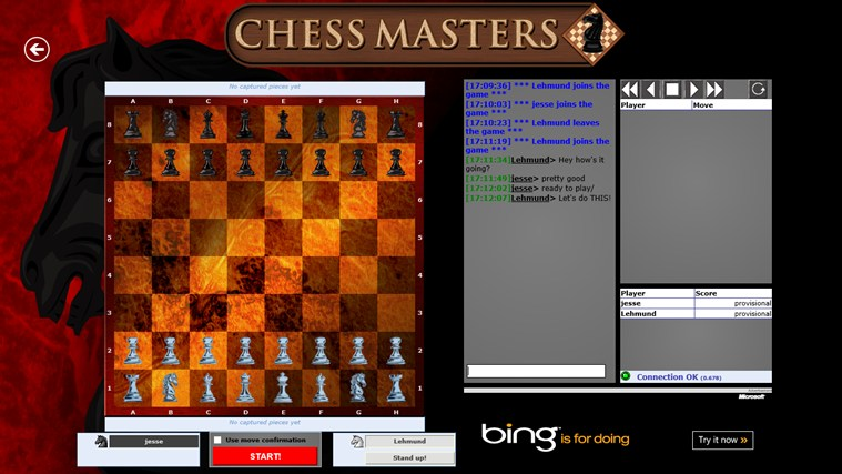 Chess Masters Online screen shot 2