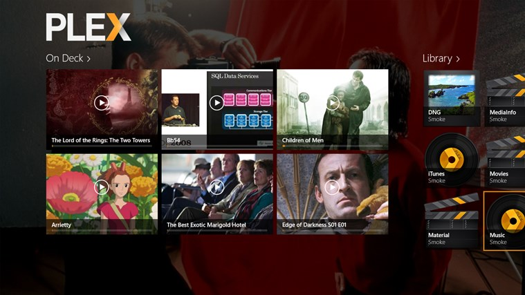 Plex screen shot 0