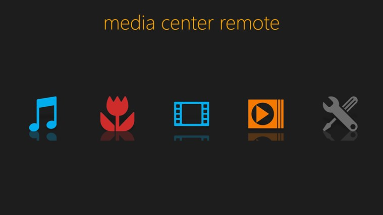 media center remote for windows 8 screenshot 0