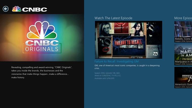 CNBC screen shot 0