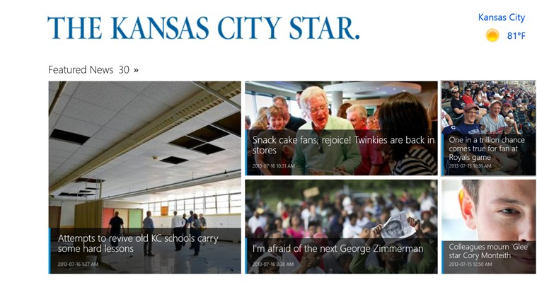 The Kansas City Star screen shot 0